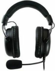 Zwarte QPAD - QH-95 High End Stereo en 7.1 USB Gaming Headset, Gesloten Oor, Geluidsonderdrukking afneembare Microfoon, Multiplatform