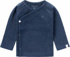 Noppies baby longsleeve nanyuki met borduursels donkerblauw