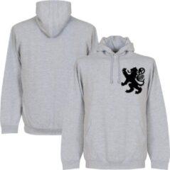 Retake Holland Leeuw Logo Hooded Sweater - Grijs - Kinderen - 92/98