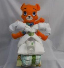Sabinesgeschenkenshop.be Brommer groot beer ted oranje
