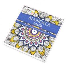 Craft Sen Craft Kleurboek Sensations Mandala Cards Blauw