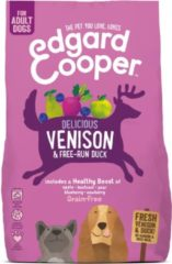 Edgard-Cooper Edgard&Cooper Delicious Venison Adult Hert&Eend&Appel - Hondenvoer - 700 g Graanvrij