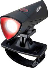 Zwarte Sigma Sport Sigma Buster Fiets Koplamp - 700 lumen - Mert helmbevestiging
