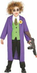 Batman Eng joker clown kostuum voor kinderen - Verkleedkleding