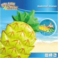 Gele JIN Opblaasbare Ananas luchtbed 154cm