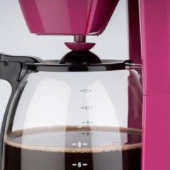Korona 10119 - koffiezetapparaat - 1.5 liter - 12 kopjes- roze