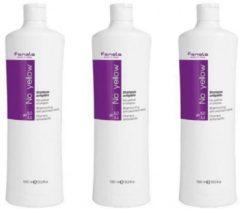 Fanola No Yellow Shampoo 3 x 1000ml Voordeel verpakking
