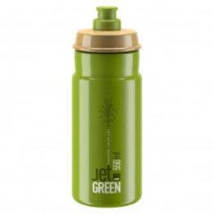 Elite - Jet 550 ml - Fietsbidon maat 550 ml, groen/olijfgroen