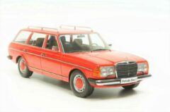 KK Scale Mercedes-Benz 250T W123 Estate 1977 Rood 1:18