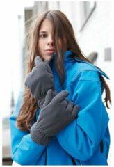 Gebroken-witte Myrtle Beach Thinsulate fleece handschoenen S/m Off white