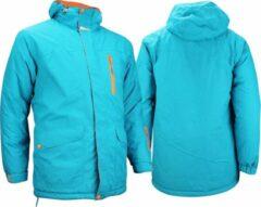 Starling Ski/Snowboardjas - Heren - Aqua/Grijs/Oranje - S