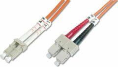 Digitus DK-2532-02 Glasvezel kabel 2 m LC SC