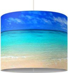 PPS. Imaging Pendelleuchte - Paradise Beach - Lampe - Lampenschirm Blau