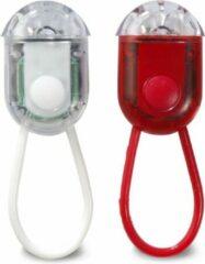 Redhart Led Fietslampjes - Fietsverlichting - Set van 2 - Ø 5 cm - Assorti