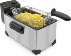 Roestvrijstalen Tomado TDF3001S - frituurpan - 3 liter - koude zone - 2200 watt - rvs