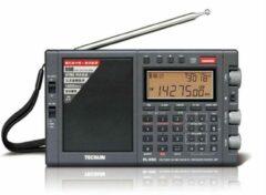 Zwarte Tecsun PL990 -X korte golf radio