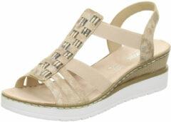 Rieker sandalen met riem Poederroze-38