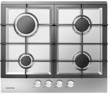 Roestvrijstalen Inventum IKG6023GRVS- Inbouw gaskookplaat