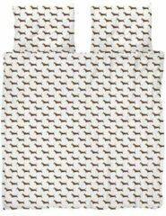 Witte Snurk James biologisch katoenen dekbedovertrekset 160TC - inclusief kussenslopen