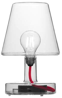Afbeelding van Transparante Fatboy Transloetje tafellamp
