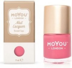 Mo You London MoYou London Stempel Nagellak - Stamping Nail Polish 9ml. - Sweet Lips
