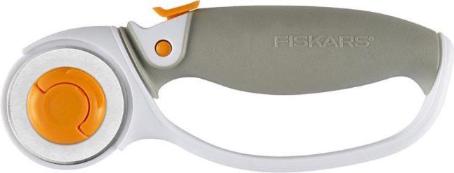 Afbeelding van Fiskars Rolmes Easy Blade 45 Mm Wit/grijs/oranje