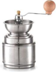 Roestvrijstalen Haushalt Handmatige Koffiemolen - RVS - Groot opvangreservoir - Handgemalen Koffie