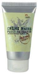 Aleppo Soap Co. Fleur De Jasmin Jasmin Scented Hand Cream Creme Droge Handen 75ml
