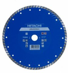 Hitachi Accessoires Diamant Zaagblad 230X22,2X6Mm Type Turbo