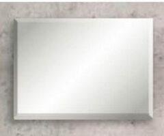 Sub 126 spiegel 140x60cm bxh met facetrand 25mm met bevestiging