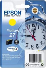 Gele EPSON 27 ink cartridge yellow standard capacity 3.6ml 350 pages 1-pack RF-AM blister - DURABrite ultra ink