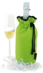 Groene Pulltex CHAMPAGNE COOLER BAG LIME