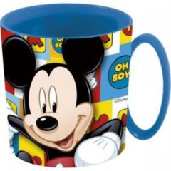 DISNEY TAZZA IN PROPILENE MICKEY MOUSE TOPOLINO ml 350 DA MICROONDE ST19004