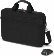 DICOTA Top Traveller Wireless Mouse Kit - Draagtas voor notebook - 15.6 - zwart - met draadloze optische muis