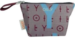 Oilily Ruffles CosmeticPouch SHZ OILILY 800 grey