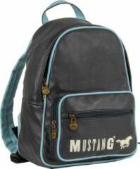 Mustang ® Milan Rugtas - Sport PU - Waterafstotend - Blauw