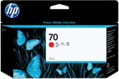 Rode HP 70 - Inktcartridge / Rood