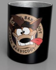 Merkloos / Sans marque Crash Bandicoot Crash Steel Mug 350ml