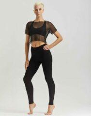 Temps Danse - Artist - Legging - Dames - Yogabroek - Sportbroek - Dansbroek - Viscose - Zwart -S