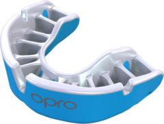 Lichtblauwe Opro Sportbitje Self-fit Gen4 Gold Unisex Lichtblauw/wit