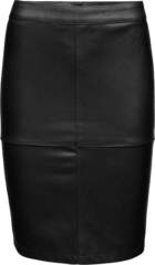 Zwarte VILA, Dames Rok ´Vipen´, zwart