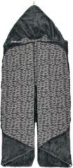 Grijze Snoozebaby wikkeldeken groep 0 frost grey 80x80 cm