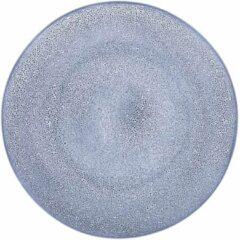 HEMA Dinerbord 26cm Porto Reactief Glazuur Wit/blauw