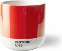 Copenhagen Design - Pantone - Thermokopje -175ml - Rood