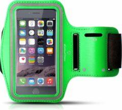 #DoYourFitness - Sportarmband - »RunnerMan« - Sportarmband geschikt voor mobiele telefoon - MEDIUM (146x74x10 - 155x8x10mm) 60CM armomvang - groen