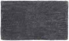 Antraciet-grijze Badmat Blomus Twin 60x120 cm Katoen Magnet