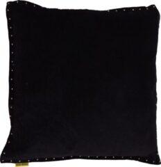 Mycha Ibiza - Sierkussen - Pala - Velvet - katoen - 60 x 60 - Zwart