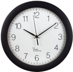 106936 - Radio controlled clock, battery operated 106936, special offer