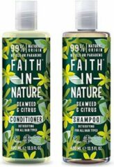 Faith in nature seaweed en citrus shampoo en conditioner