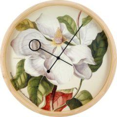 Groene Cloudnola – SKU0078 – Wandklok – Ø41,6 cm – Botanical Magnolia